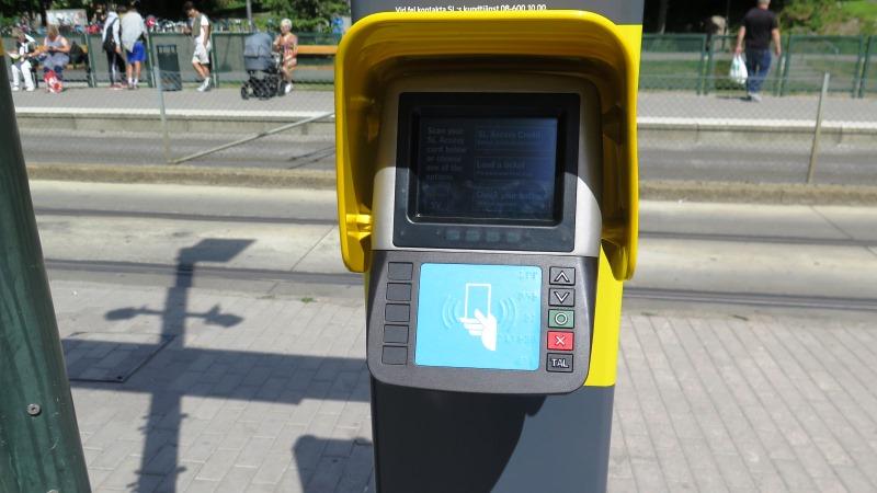 Bild på bankomatliknande maskin.